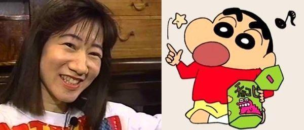 Akiko Yajima (矢島晶子), la voz de Shinchan