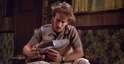 Nicolas Cage, en una fantástica interpretación en Arizona Baby (Raising Arizona, 1987)