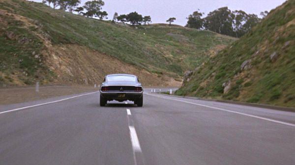 """Bullitt"" (1968): Ford Mustang 390 de 1968 por San Francisco"