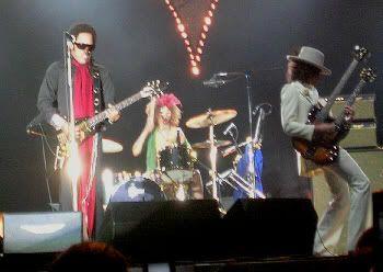 Lenny y Craig. Duelo de rock. Lenny Kravitz en León (16 de junio de 2005)