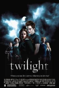 """Cartel original de Crepúsculo(""""Twilight"""", 2008)"""