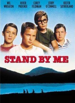"""Cartel de """"Cuenta Conmigo"""" (""""Stand by Me"""", 1986)"""