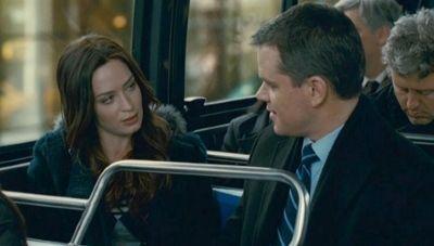 "Matt Damon y Emily Blunt en ""Destino Oculto"" (""The Adjustment Bureau"", 2011)"