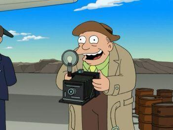"""Referencias sobre la conspiración de Roswell en """"Futurama"""""""