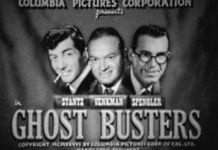 """Versión """"vintage de """"Ghostbusters"""" (montaje de humor)"""