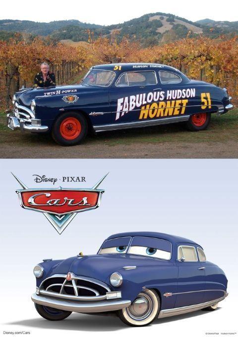 El doctor Hudson es un Hudson Hornet de 1951