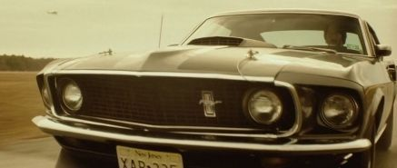 "John Wick en su Mustang '69. ""John Wick"" (2014)"
