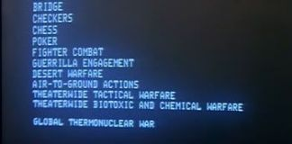 """""""Juegos de Guerra"""" (""""WarGames"""", 1983)"""