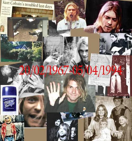 Kurt Cobain 40 años (fotolog)