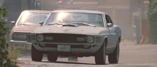 """Ford Mustang Mach-1 de 1970 en """"Le Llaman Bodhi"""" (""""Point Break"""", 1991)"""