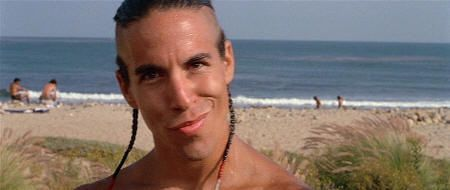 "Anthony Kiedis en ""Le Llaman Bodhi"" (""Point Break"", 1991)"
