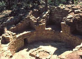 Kiva en ruinas