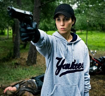 """Noomi Rapace en """"La chica que soñaba con una cerilla y un bidón de gasolina"""" (""""Flickan som lekte med elden"""", 2009)"""