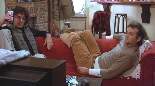 """Harold Ramis y Bill Murray en """"El Pelotón Chiflado"""" (""""Stripes"""", 1981)"""