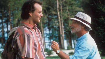 "Bill Murray y Richard Dreyfuss en ""¿Qué Pasa con Bob?"" (""What About Bob?"" (1991)"