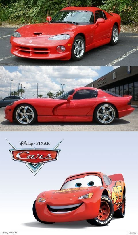 Rayo McQueen es en realidad un Dodge Viper
