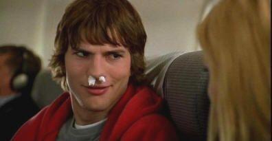 "Ashton Kutcher en ""Recién Casados"" (""Just Married"", 2003)"