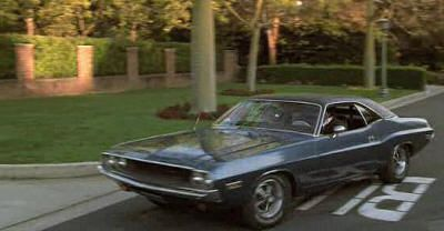 "Dodge Challenger de 1970 en ""Recién Casados"" (""Just Married"", 2003)"