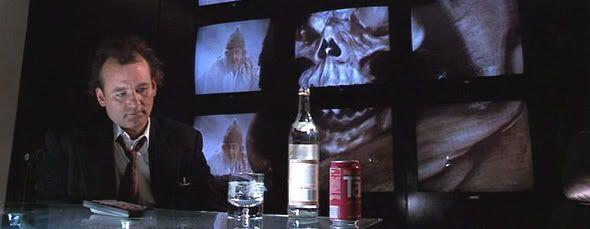 Los fantasmas acosan a Bill Murray
