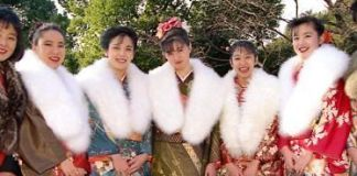"""Seijin No Hi o """"día de la mayoría de edad"""" en Japón"""