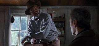 "Morgan Freeman en ""Sin Perdón"" (""Unforgiven"", 1992)"