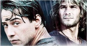 Con Keanu Reeves, Swayze se convirtió en Bodhi, un gurú del surf