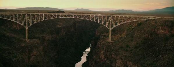 """Rio Grande Gorge Bridge. """"La Señal"""" (""""The Signal"""", 2014)"""