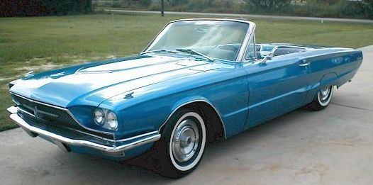 Ford Thunderbird descapotable de 1966