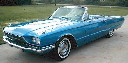 Ford Thunderbird descapotable de 1966