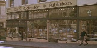 """Librería City Lights (San Francisco) en """"Wildflowers"""" (1999)"""