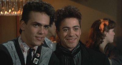 "Robert Downey Jr. en ""La Mujer Explosiva"" (""Weird Science"", 1985)"