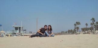 En la playa de Venice (Los Angeles, California) en agosto de 2009