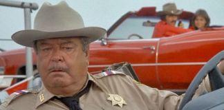 """El sheriff Bufford T. Justice (Jackie Gleason) en """"Los Caraduras"""" (""""Smokey and the Bandit"""", 1977)"""