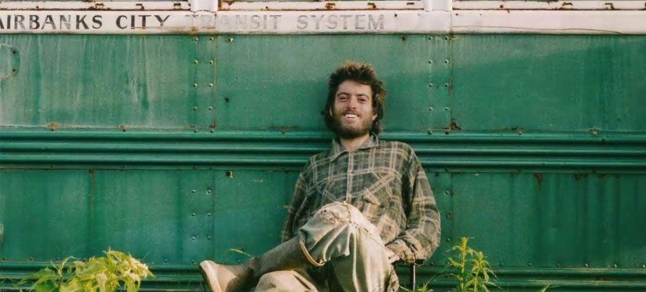 Última imagen de Christopher McCandless (Alexander Supertramp) en su autobús mágico