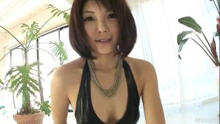 Lovely Azumi has a cock addiction and she has a full afternoon of cock sucking