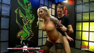 Tattooed Busty Mom Jarushka Ross Fucked Hard – Extreme Bukkake
