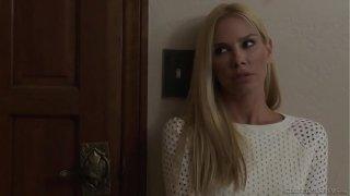 Sandy Fantasy enjoys her first lesbian sex with Lena Nicole