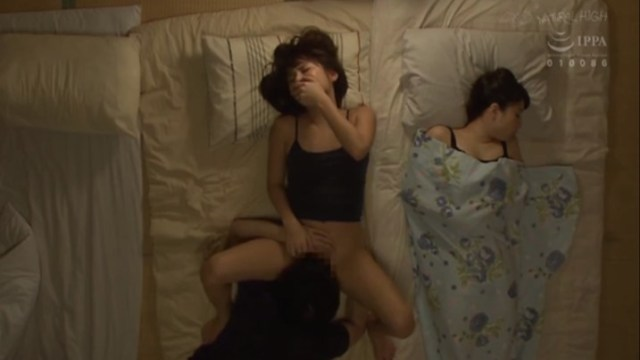 Divorced father overexcited Fucked two japanese step daughters sleeping