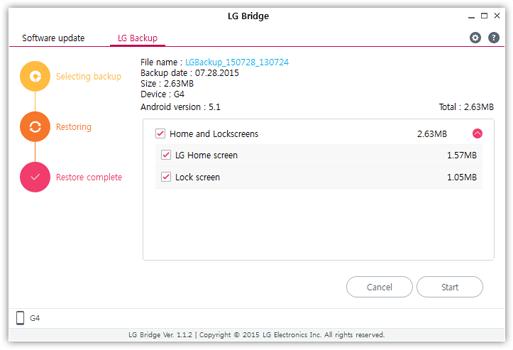 Download LG Bridge Terbaru