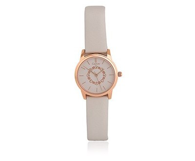 Ladies Grey Tree of Life Watch