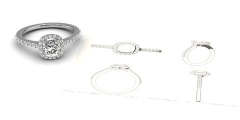 image advertising bespoke jewellery
