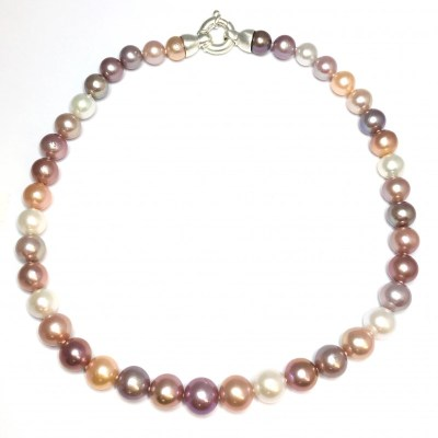 Fresh Water Cultured Pearl Necklace – Multicolour
