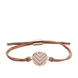 Image of fossil chevron glitz bracelet