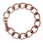 Handmade 9ct Rose Gold Bracelet
