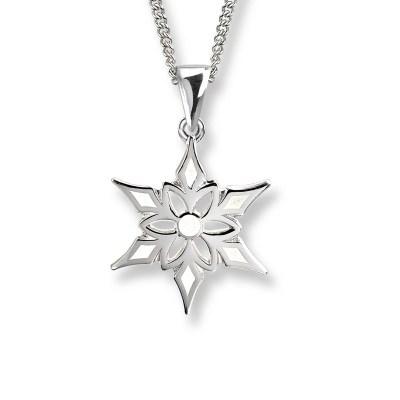 Nicole Barr Sterling Silver & Enamel Necklace