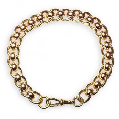 Handmade 9ct Yellow Gold Bracelet