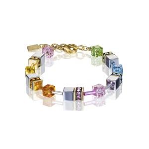 Image of coeur de lion geocube® bracelet - multicolour pastel