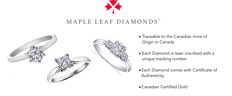 Maple Leaf Diamonds Banner
