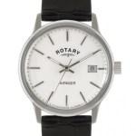 Rotary – Mens Avenger White Dial Black Strap Watch