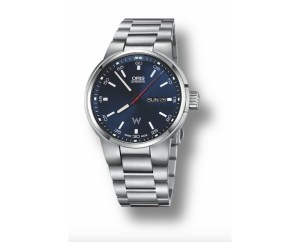 An image of a mens Oris Williams F1 watch front facing